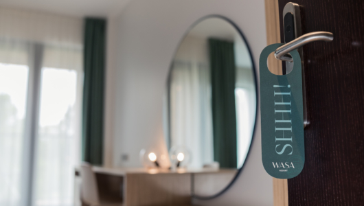 Wasa Resort, do not disturb, hotellituba