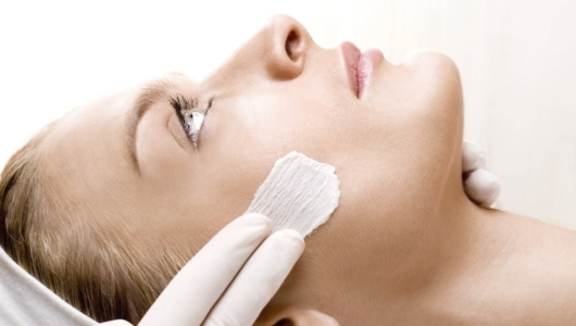 Anne Semonin facial procedure